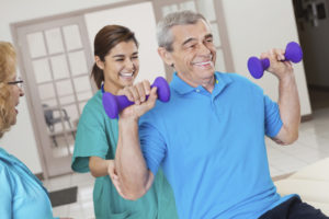 Rehabilitation & Therapy at Tanglewood Health & Rehabilitation nursing home in Topeka, KS.